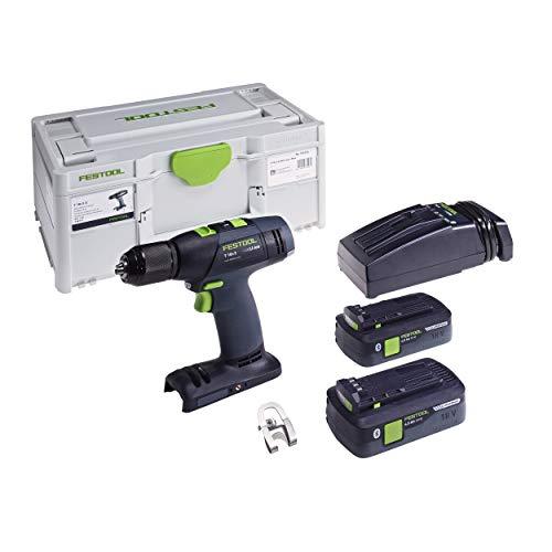 Festool 576754 T 18+3 E Cordless Drill Kit