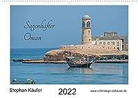 Sagenhafter Oman (Wandkalender 2022 DIN A2 quer): Reise im Oman zwischen Muscat und Sur (Monatskalender, 14 Seiten )