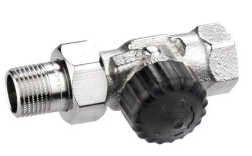 Heimeier HEIMTHDVN12 Thermostat-Ventilunterteil, 2202 Durchgangs Form, 1/2 Zoll