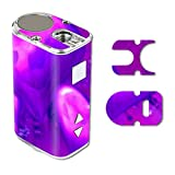 MightySkins Skin Compatible with Eleaf iStick 10W Mini – Purple Heart | Protective, Durable, and Unique Vinyl Decal wrap Cover | Easy to Apply, Remove, and Change Styles | Made in The USA