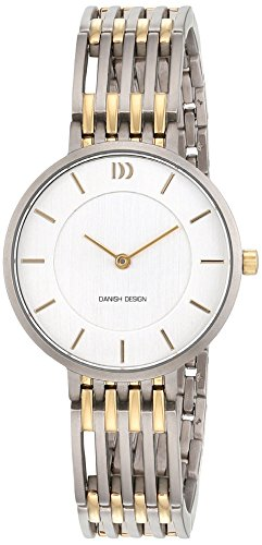 Danish Design Damen Analog Quarz Uhr mit Titan Armband 3326614