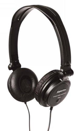 Superlux HD572 Schwarz Ohraufliegend Kopfband - Kopfhörer (Ohraufliegend, Kopfband, Verkabelt, 20-20000 Hz, 2 m, Schwarz)