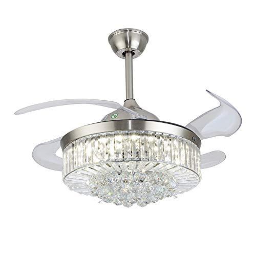 """41W LED 36"""" Deckenventilatoren, Ventilator Kronleuchter Fan Kronleuchter mit Fernbedienung Deckenventilatoren mit Beleuchtung"""