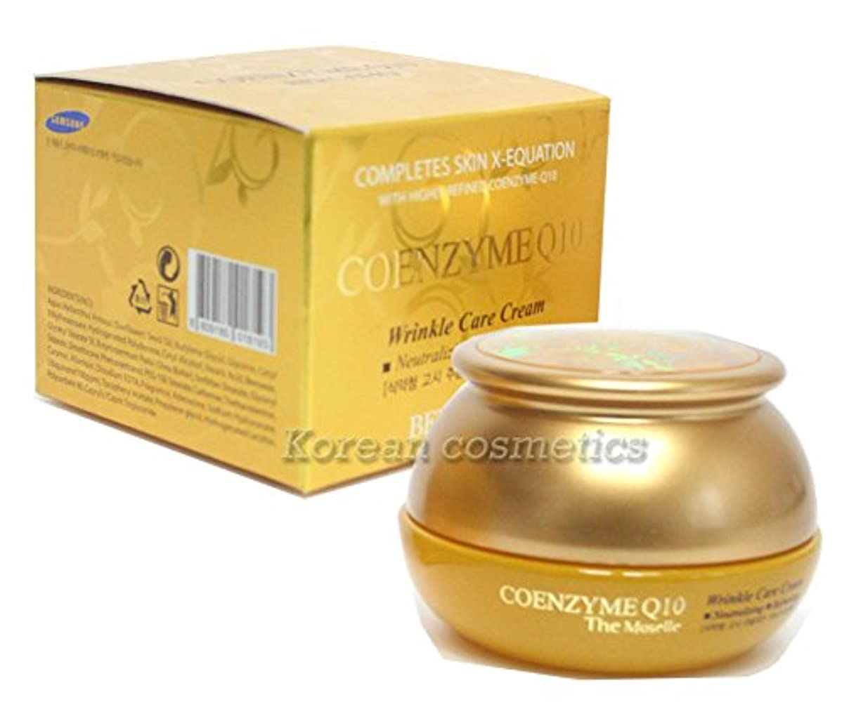 多年生確率ワックス【ベルガモ][Bergamo] モーゼルコエンザイムQ10クリーム50g / the Moselle Coenzyme Q10 Cream 50g / リンクルケア、弾力性 / Wrinkle Care,elasticity / 韓国化粧品 / Korean Cosmetics [並行輸入品]