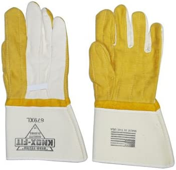 Dozen Knoxville Double Max 59% OFF Palm Manufacturer direct delivery Gloves XL Gauntlet Ironworkers
