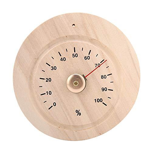Acouto Hygrometer, Holzsauna-Hygrometer, großes Zifferblatt und übersichtliche Anzeige, leicht ablesbare Ziffern für Sauna, Zimmer, Büro