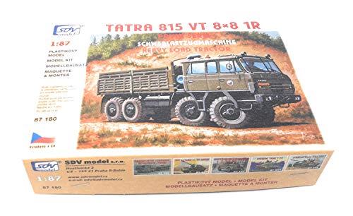 SDV LKW Truck Tatra 815 VT 8x8 1R Schwerlastzugmaschine Kunststoff Modellbausatz 1:87 H0