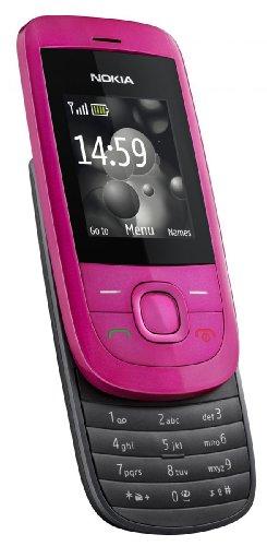 'Nokia 2220slide Handy–Freien (1,8Display 128x 160, 32MB Kapazität) Rosa