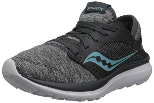 Saucony Women's Kineta Relay Running Shoe, Heather/Blue, 7 M US