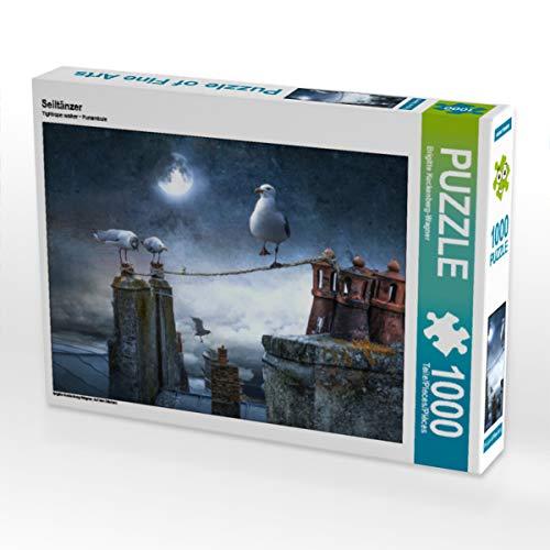 CALVENDO Puzzle Seiltänzer 1000 Teile Lege-Größe 64 x 48 cm Foto-Puzzle Bild von Brigitte Kuckenberg-Wagner