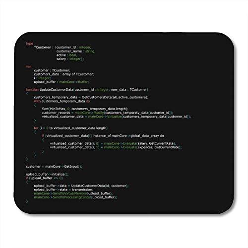 Almohadillas para mouse Resumen del programa Código de programación Tecnología de codificación Idioma de listado Almohadilla para mouse para computadoras portátiles, computadoras de escritorio Accesor