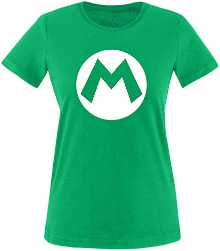 AngryShirts Mario Kostüm T-Shirt Damen