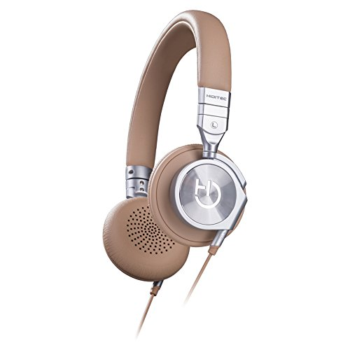 Hiditec - Auriculares Aviator - Color camel