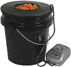 HTGSupply 5-Gallon Bubble Boy Single Shot Deep Water Culture (DWC) Hydroponic Bucket System