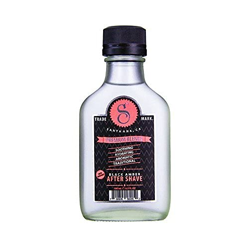 Ultra-Cheap Deals Suavecito Premium Blends Black Aftershave Amber 3.4 oz Columbus Mall