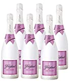 Freixenet ICE Rosé D.O. Cava, Halbtrocken, 12,5% Alkohol (6 x 0,75 l Flaschen) – Sommergetränk aus feinsten Rebsorten