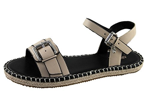Armani Jeans Schuhe Shoe Espadrilles Sandalen 925217 beige (40 EU)