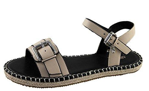 Armani Jeans Schuhe Shoe Espadrilles Sandalen 925217 beige (41)