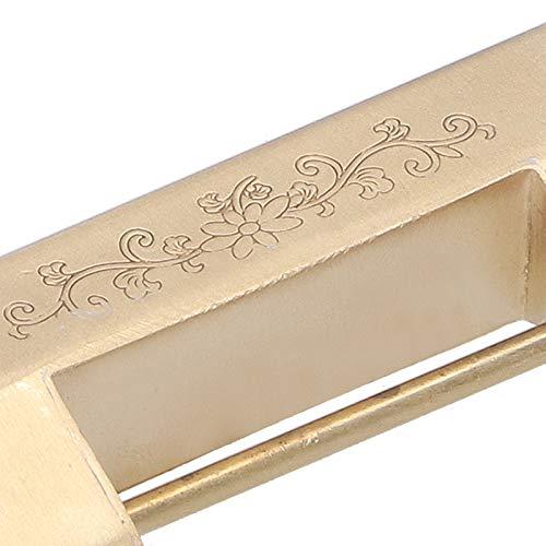 Ong Candado, Mini candado Vintage de 4,4 cm, Hermoso para Cajas de Herramientas Gabinetes pequeños Use Cajas de Madera Use Cajas de Vino