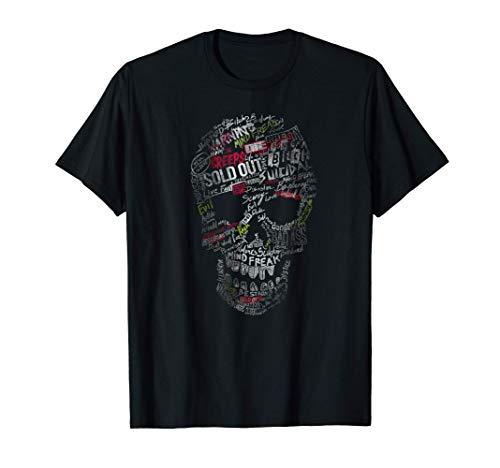 Calavera de Graffiti Camiseta