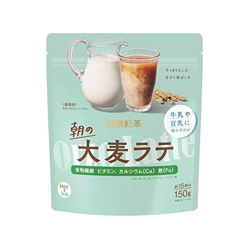 三井農林 朝の大麦ラテ 150g ×4袋 粉末