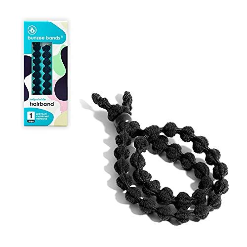 BunzeeBands Adjustable Length Hairband   Long Cushioned Headband Ties...