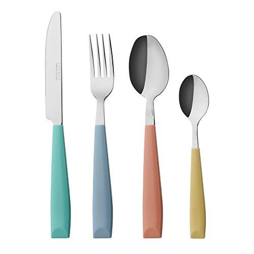 Tenedores Plastico Colores Marca Exzact