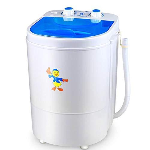 Jiamuxiangsi Mini wasmachine Draagbare wasmachine - Wasmachine Wassokken Ondergoed Briefs Kleine Mini Slaapzaal Gestapelde Wasmachines & Drogers
