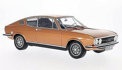 Audi 100 Coupe S, kupfer, 1973, Modellauto, Fertigmodell, BoS-Models 1 18