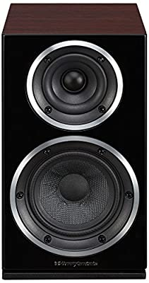 Wharfedale Diamond 220 Rosewood Speaker 2-Way with Wire, 56-20000 Hz, 8 Ohm, Rosewood by Wharfdale