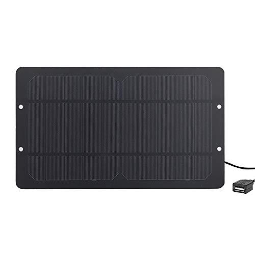 Soshine Mini Solar Panel 6v 6w Solar Panel Charger - USB Solar Panel with High Performance Monocrystalline for Bicycle,Cellphone