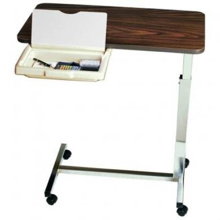 Overbed Table with Vanity Non Tilt Automatic Spring Assisted - Item Number 1010H1200Ea