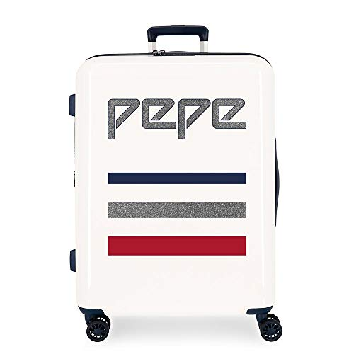 Pepe Jeans Taking Off Valigia 70 cm, 81 Beige