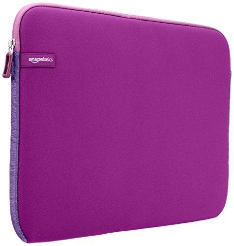 """Amazon Basics NC1303154G - Funda para ordenadores portátiles (15.6""""), color púrpura"""