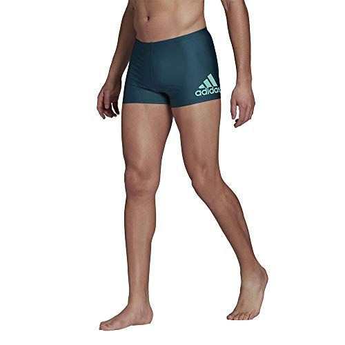 adidas GM3534 FIT BX BOS Swimsuit Mens wild Teal/Acid Mint 8