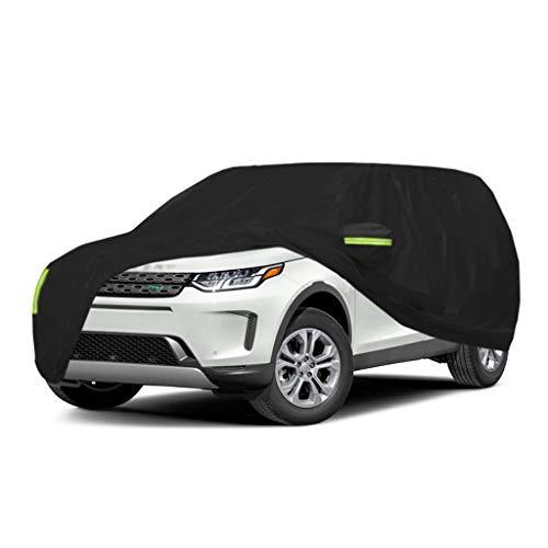 Cubierta de coche Compatible con Land Rover Range Rover Evoque SUV Cubiertas del automóvil Lona del automóvil Todo el día Impermeable y a prueba de viento A prueba de nieve A prueba de polvo contra