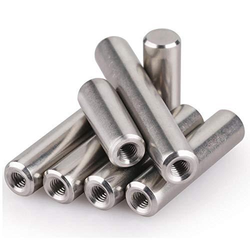 Zylinderstift mit Innengewinde aus Edelstahl 304 Gewindestift mit Innengewinde-8 * 30 [Innengewinde M5]