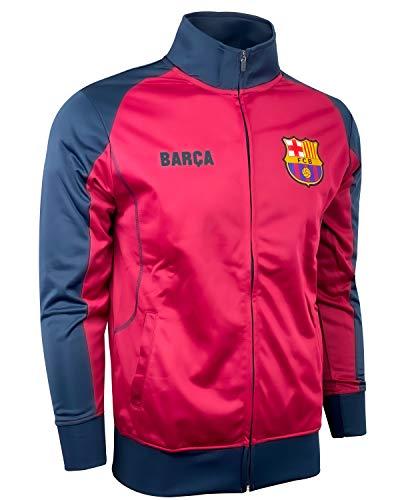 Men's Barcelona Track Jacket, Licensed Barcelona Full Zip Track Jacket