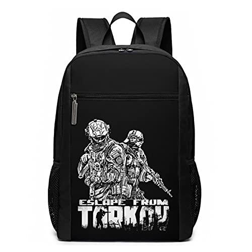 Escape From Tarkov Stilvoller Rucksack Reiserucksack Schultaschen für Teenager Outdoor Wandern Camping Rucksack