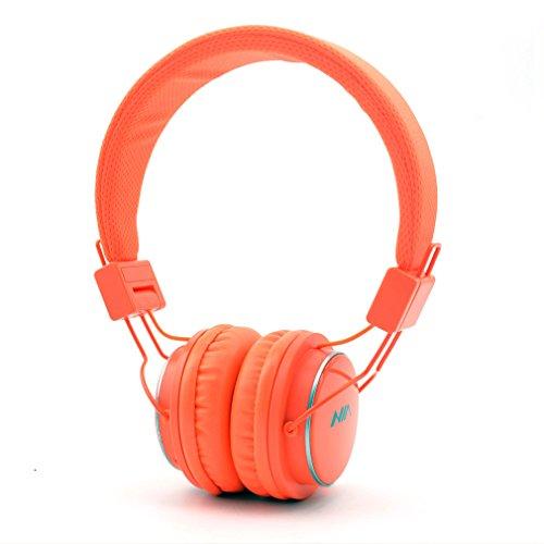 Granvela Q8 Foldable Bluetooth Headphone, Orange