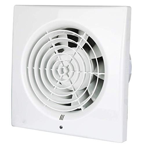 DYXYH Extintor Tranquila en el Dormitorio, Descarga Blanca Vertical Ventilador de ventilación, Sala Redonda Pared de la Ventana Agujero