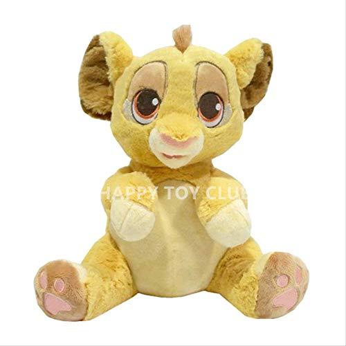 qwermz Peluche - 24 Cm Le Roi Lion Bébés Simba Animaux en Peluche Garçons Filles Enfants pour Enfants Cadeaux