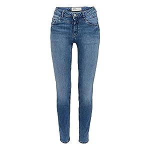 ESPRIT Damen 999Ee1B811 Skinny Jeans, 902/BLUE MEDIUM WASH, W27/L32 (Herstellergröße:27/32)