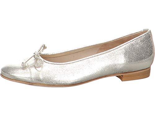 Gabriele Damen Ballerina Stefy Größe 41 EU Silber (Silber)