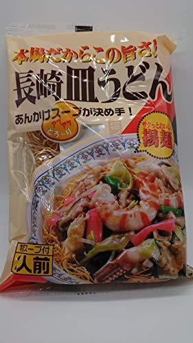 小川屋 本場の味 長崎皿うどん 2人前×4個セット 特製スープ付き