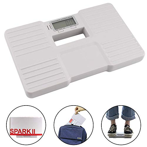Travel Scale Mini Weight Scale Postal Weight Scale Digital Body Weight Scales Digital Weight Electronic Weighing Scale Light Scale 0.8lb~330lb/0.3KG~150KG for Home Office Travel