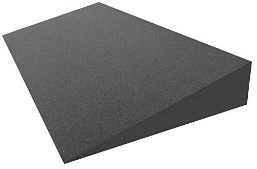 Dibapur® Keilkissen Matratzen Matratzenkeil Matratzenerhöhung Hochlagerungskeil fürs Bett (Ohne Bezug) (B 90 x T 50 x H 15 / 1cm)