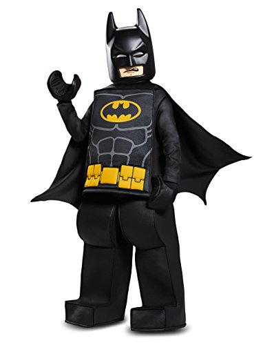Disguise Batman Lego Movie Prestige Costume, Black, Medium (7-8)
