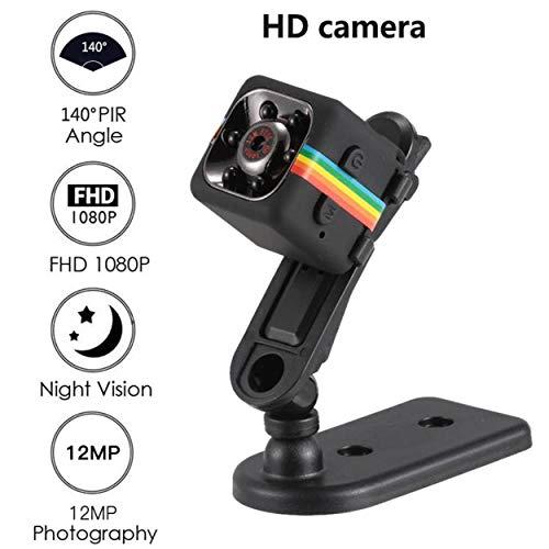 Lodenlli SQ11 Coche Mini DVR Cámara HD Videocámara CMOS 1080P Grabador de Video de visión Nocturna Cámara Deportiva Impermeable al Aire Libre