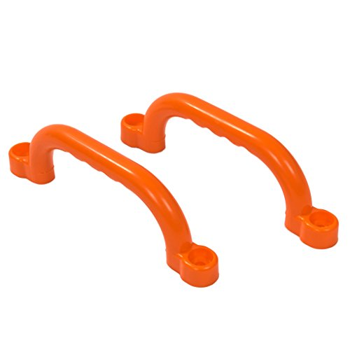 2er Set stabile Haltegriffe in orange aus PE inkl. Befestigungsmaterial!
